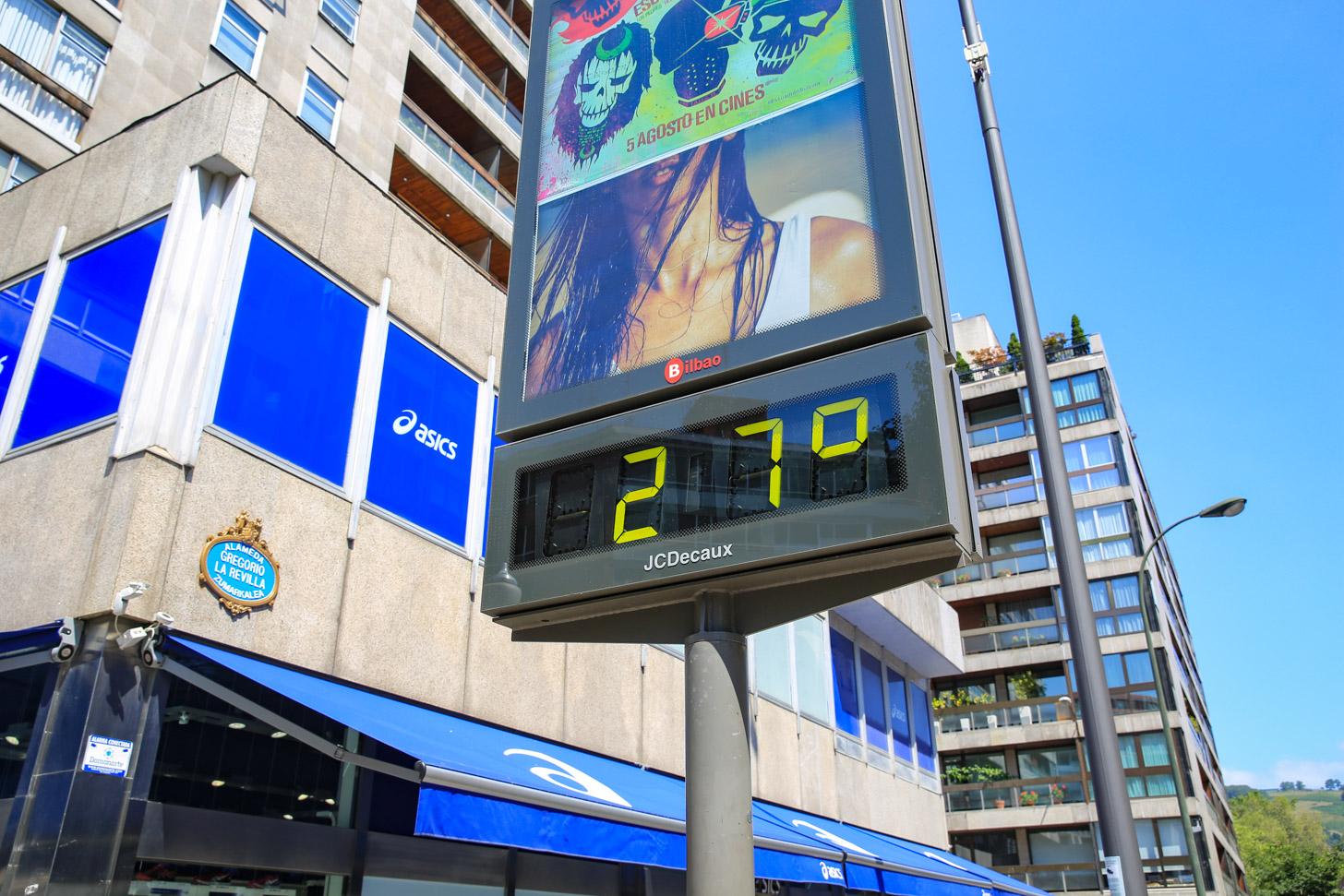 Het weer in Bilbao